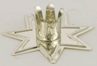 Silver Fairy Star Chime holder