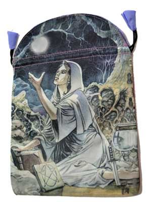 Drawing Down tarot bag