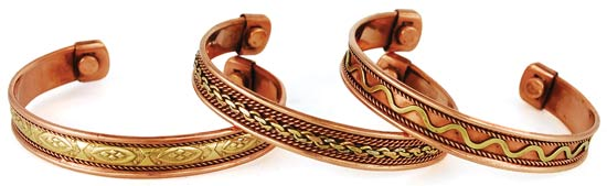 Copper Magnetic Cuff (varied)