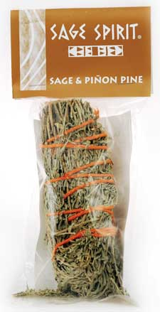 Sage & Pinion Pine smudge stick 5""